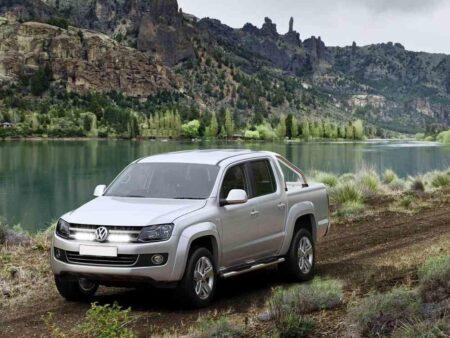 VW AMAROK (2011+) – Kit do mřížky pro světlomety