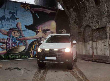 VW TRANSPORTER T5 – Sada pro osvětlení do mřížky chladiče