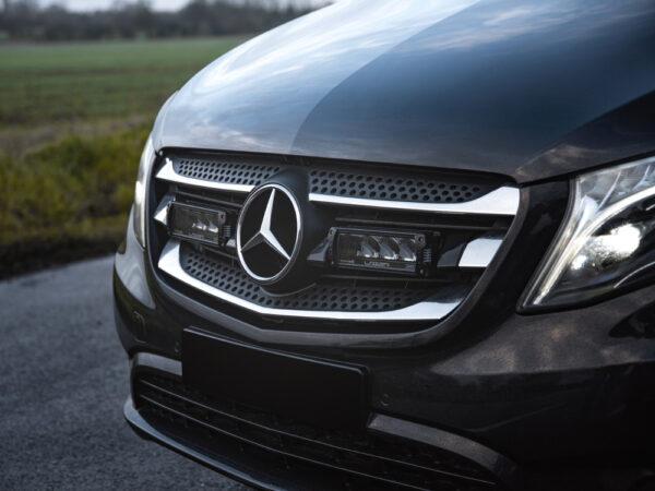 Mercedes Vito (2014+) – sada pro osvětlení do mřížky chladiče