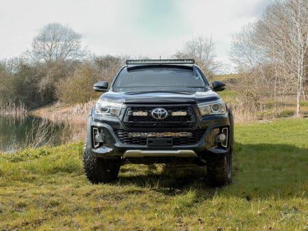 Toyota Hilux sada pro střešní uchycení (bez hagusů)