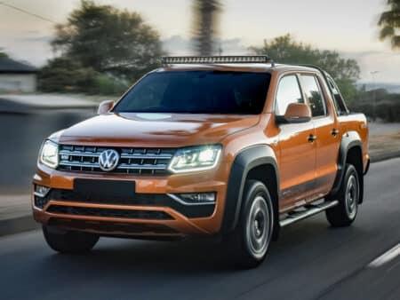 VW Amarok sada pro střešní uchycení světlometů (bez hagusů)