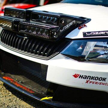 Škoda R5 – 4 směrné rally světlomety