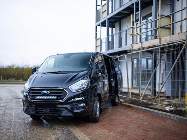 Ford Transit Custom (2018+) – sada pro osvětlení do nárazníku