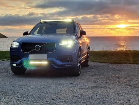 Volvo XC90 – Sada pro montáž světlometů na střechu